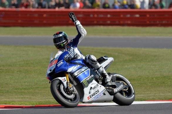 GP di Silvestone: Lorenzo torna sul podio…