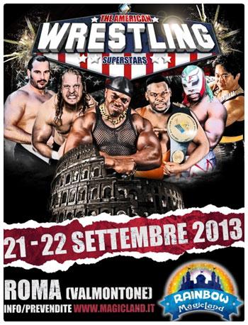 Roma ospita il grande spettacolo del wrestling