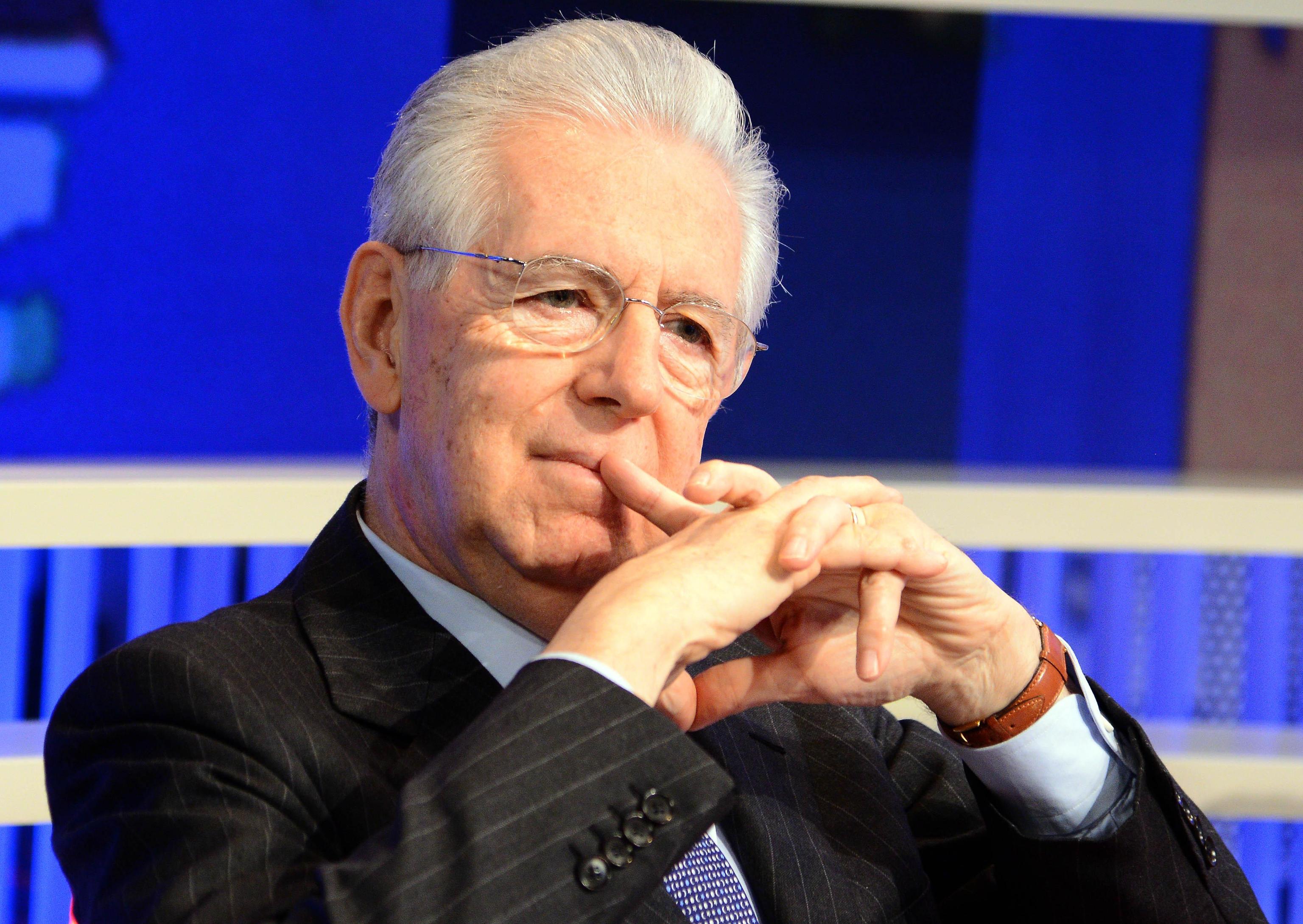Mario Monti lascia la presidenza di Scelta Civica