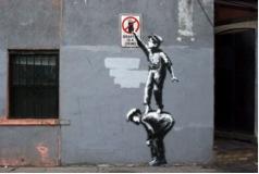 Arte di strada: Banksy torna a far parlare di sé