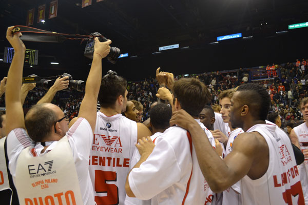 Basket, Lega A: reazione Olimpia Milano, Cimberio Varese sconfitta 84 – 72