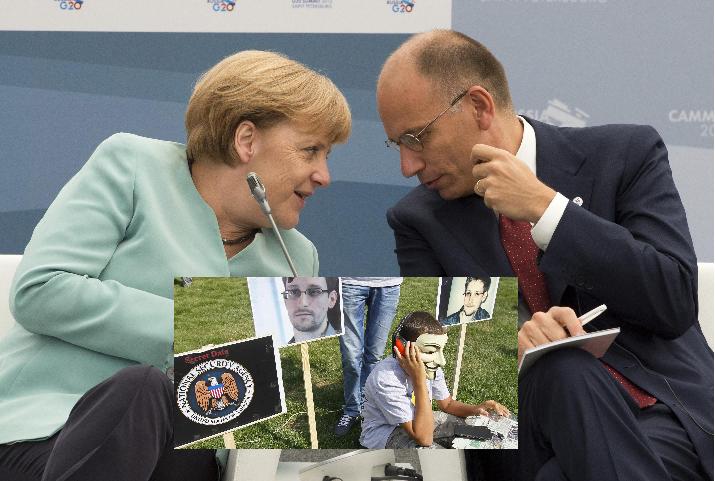 Datagate, spiati 35 leader mondiali: 'basta spiarci'