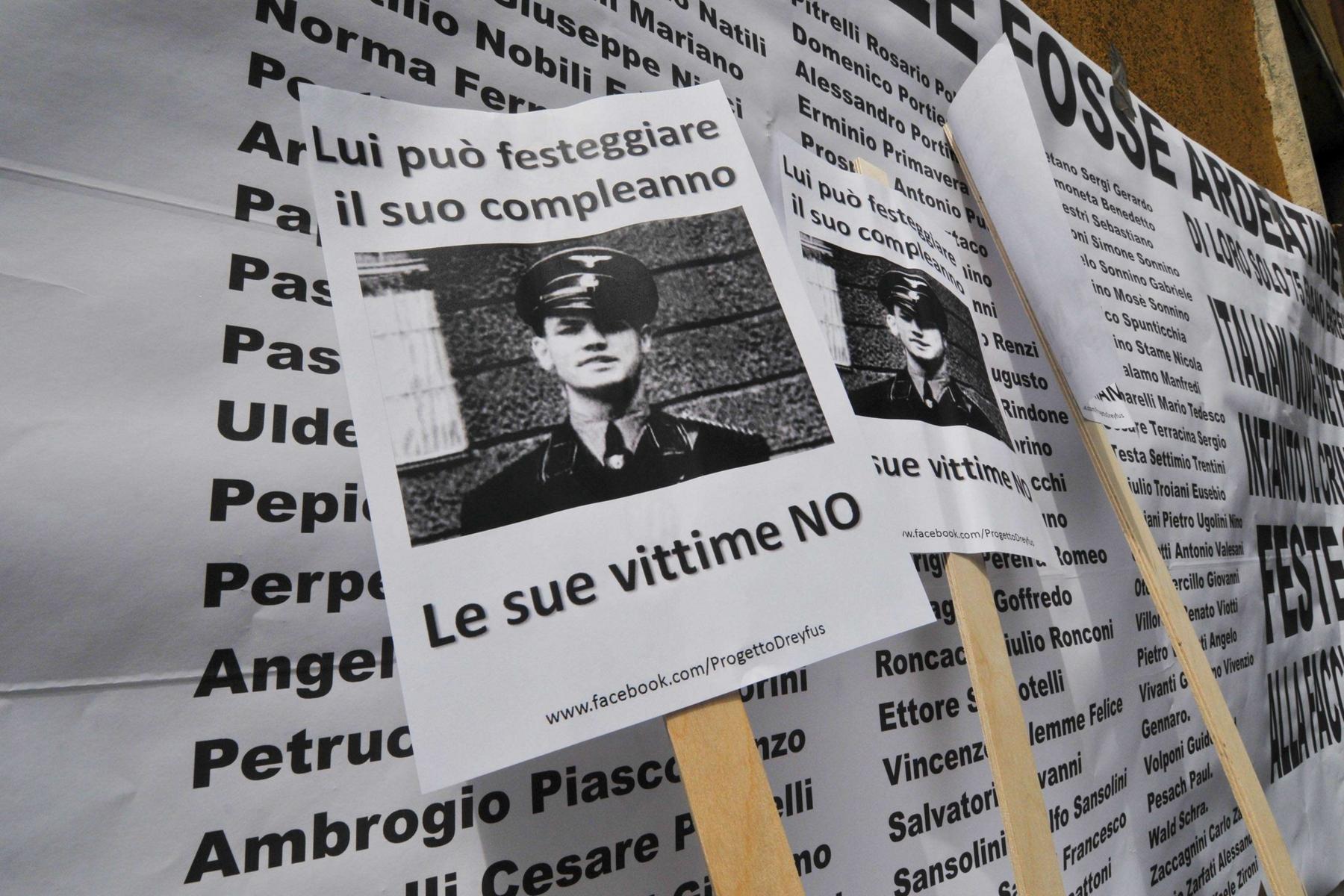 I funerali di Erich Priebke a Roma? Marino: 'sarebbe un'offesa per la Capitale'