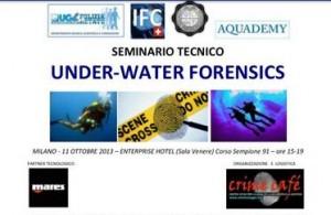 Seminario Under -Water Forensics