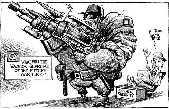 Cyber crime, cyber war, cyber terrorism? Fantascienza? Ahimè, no
