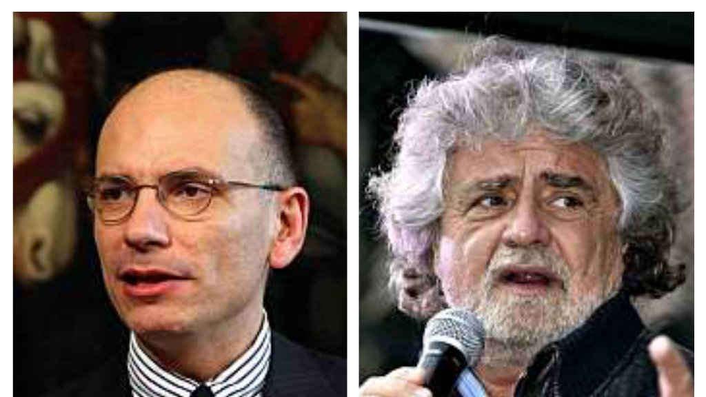 """Letta difende il Quirinale dal M5stelle: """"Grillo vuole l'instabilità"""""""