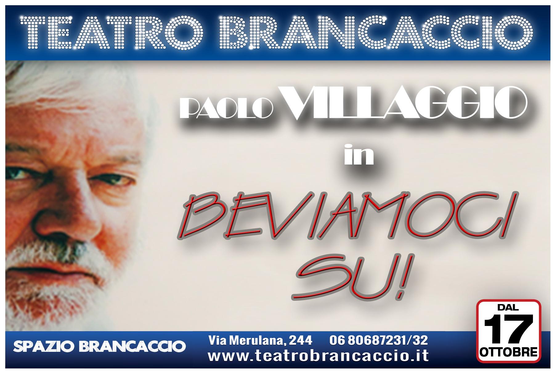 """""""Bevianoci su!! Un aperitivo da non perdere al teatro Brancaccio, con compagnia di Paolo Villaggio. Il primo appuntamento rimandato  a giovedi 24 ottobre"""
