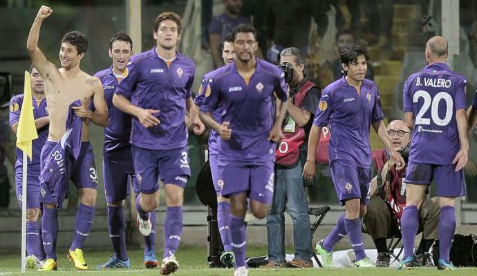 Tris viola in Europa League: battuto il Panduii