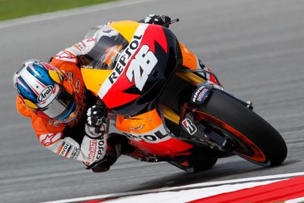 MotoGP, Sepang: dominio Pedrosa, Marquez 2° davanti a Lorenzo