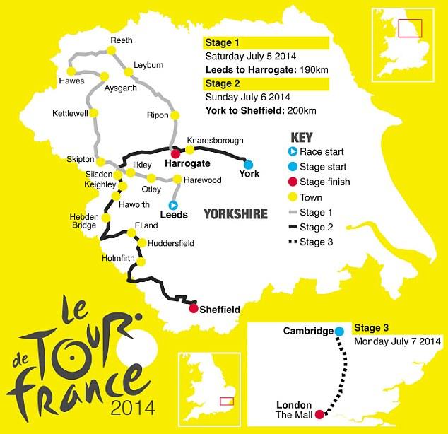 Tour de France 2014: tanta salita e una sola cronometro!