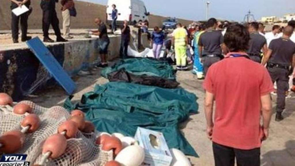 Tragedia a Lampedusa. 82 morti e 250 dispersi in mare