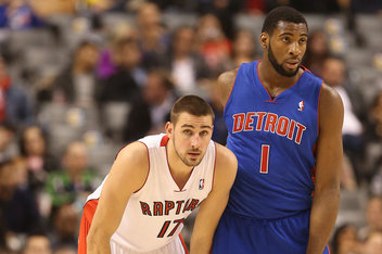 NBA: Preseason-Detroit Pistons at Toronto Raptors