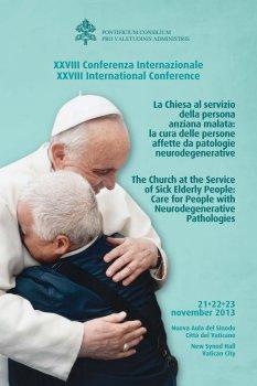 """XXVIII Conferenza Internazionale: """"La Chiesa a servizio della persona anziana malata"""""""