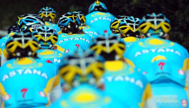 Definiti i piani dell'Astana per il 2014: Nibali fa il Tour, Scarponi e Aru il Giro