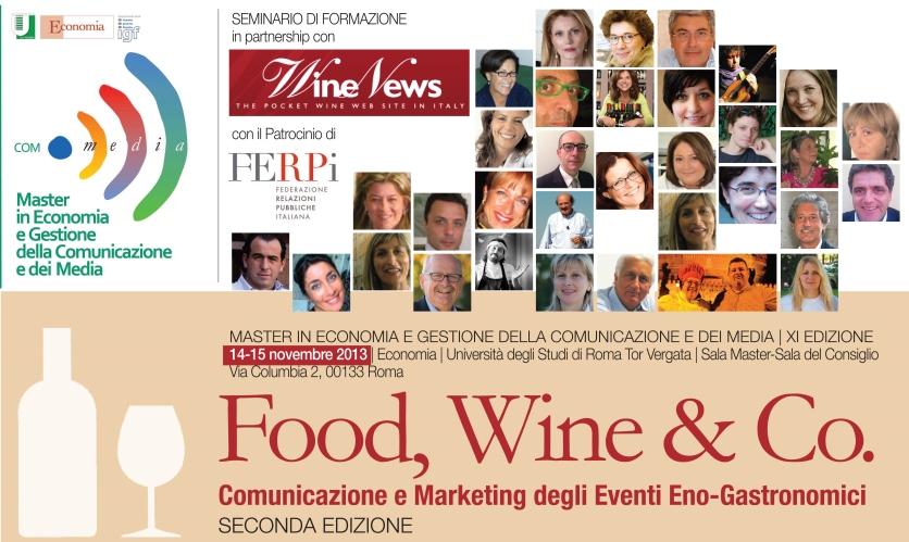 Food, Wine & CO. Comunicazione e Marketing degli eventi eno-gastronomici