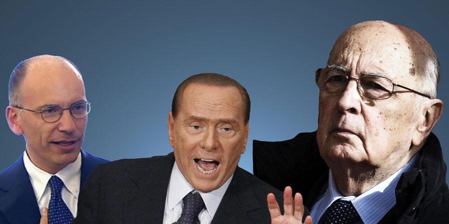 """Forza Italia chiede le dimissioni di Letta. Ma Napolitano frena:""""necessario un passaggio parlamentare"""""""