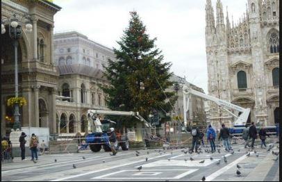 """Progetto """"Illuminami"""": un albero di 30 metri per il Natale di Milano e venti spazi illuminati"""