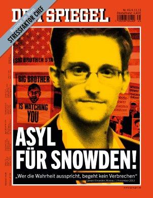 """Germania: """"Der Spiegel"""" prende posizione per Snowden"""