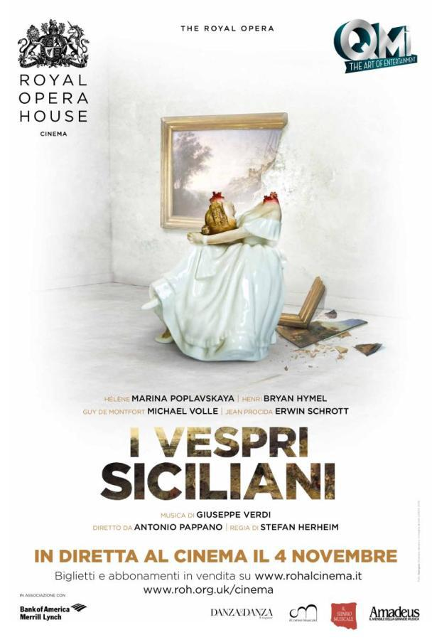 "Bicentenario Verdiano: arrivano al cinema ""I Vespri Siciliani"""