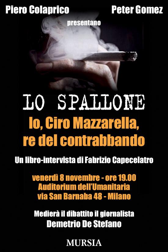 Lo Spallone: libro-intervista sul Re del contrabbando di Fabrizio Capecelatro