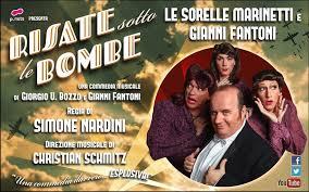 """Ultimo giorno per ridere al Teatro Manzoni di Milano con """"Risate sotto le bombe"""""""