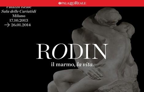 """Auguste Rodin: """"Il marmo, la vita"""".  Sala delle Cariatidi di Palazzo Reale"""