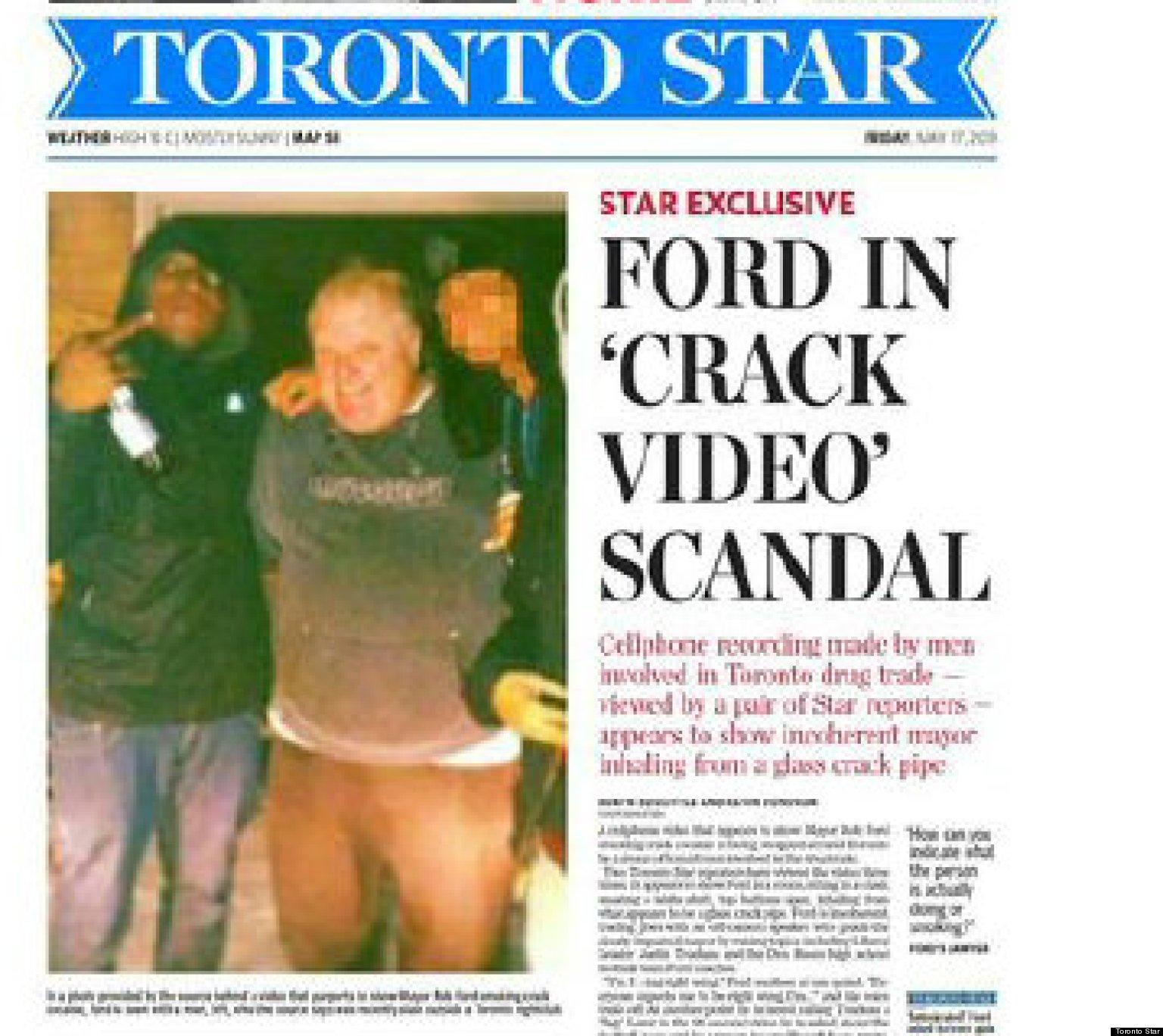 Canada: la polizia di Toronto riceve un video del sindaco che fuma crack