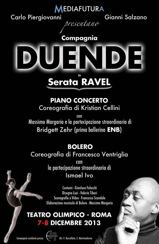 """La """"Serata Ravel"""" di Ventriglia e Cellini debutta al Teatro Olimpico di Roma"""