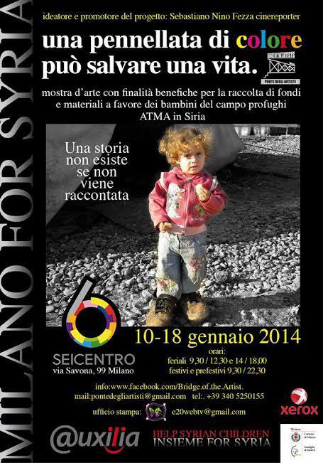 Milano: una mostra per conoscere e aiutare la Siria