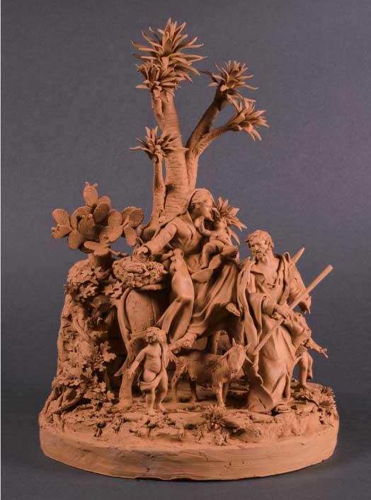 In Galleria Biffi Arte i presepi in miniatura di Marcello Aversa… è pura magia