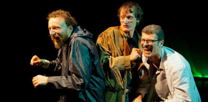 Tre uomini a zonzo in fuga dal mondo, al piccolo Bellini di Napoli