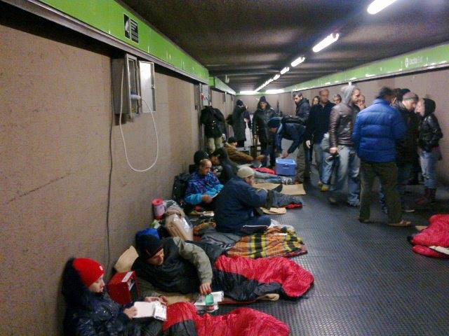 Emergenza freddo: allertati tutti i servizi per i senza tetto