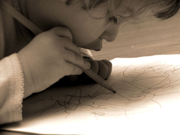 Fasi di rieducazione della scrittura nel bambino disgrafico mancino