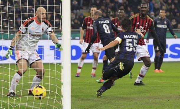 Palacio che magia! L'Inter vince il derby