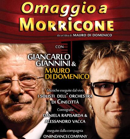 """""""C'era una volta… al Sistina"""" l'omaggio di Giannini a Ennio Morricone"""