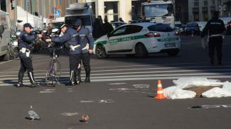 Un  31enne  travolto e ucciso da un furgone in pieno centro a Milano