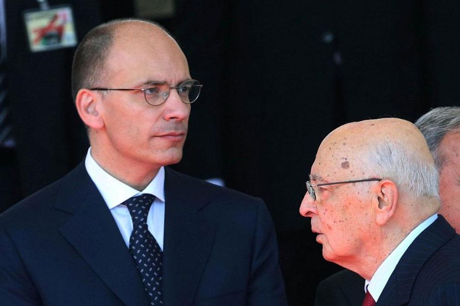 """Incontro Letta-Napolitano, fiducia in aula l'11 dicembre.Forza Italia attacca:""""Con questo passaggio alle Camere finirà il governo delle larghe intese"""""""