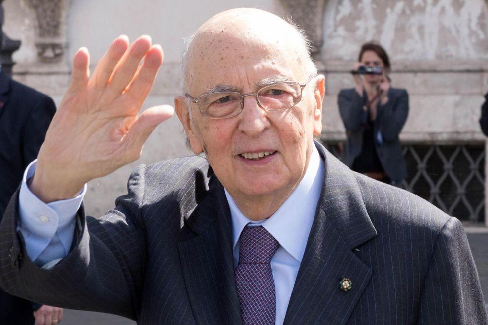 """Napolitano a Napoli: """" Il Parlamento è legittimo"""""""