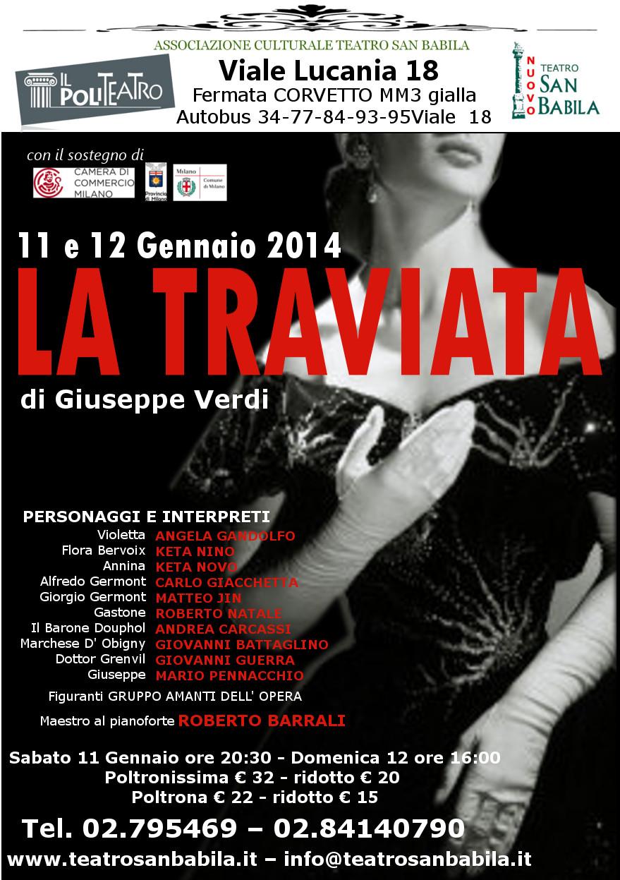 La Traviata di Verdi al Politeatro di Milano