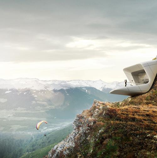 L'archi-star Zaha Hadid progetta per Messner