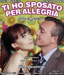 """""""Ti ho sposato per allegria"""", la commedia di Natalia Ginzburg alla Sala Umberto di Roma"""