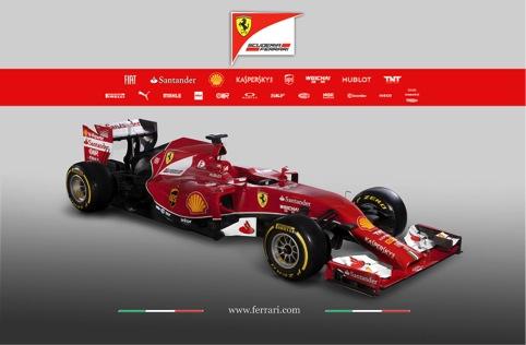 La nuova Ferrari si chiama F14T