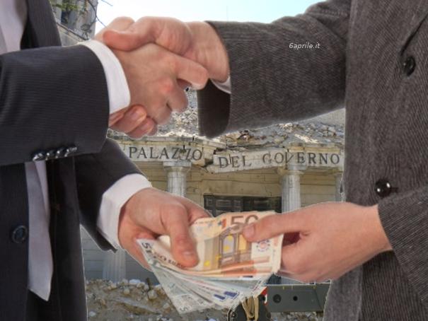 Terremoto L'Aquila: tangenti sulla ricostruzione. Quattro gli arresti