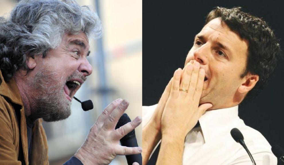 """Consultazioni: Renzi è ottimista, ma Grillo frena: """"Non sei credibile"""""""