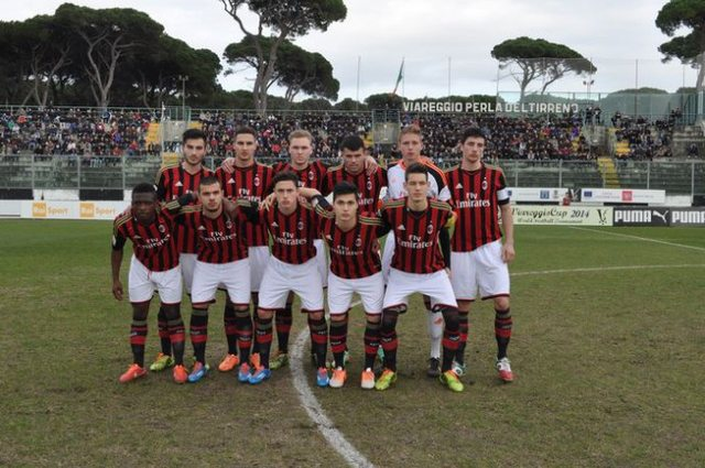 Il Milan trionfa al torneo giovanile di Viareggio. Battuto l'Anderlecht.