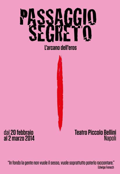 """""""Passaggio Segreto"""": Il sesso e le sue sfumature al Teatro Piccolo Bellini di Napoli"""