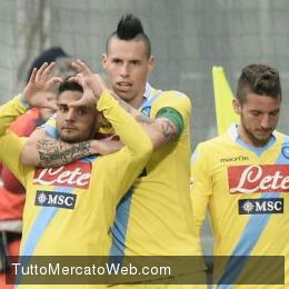 Il Napoli non si ferma più: 2-0 al Sassuolo