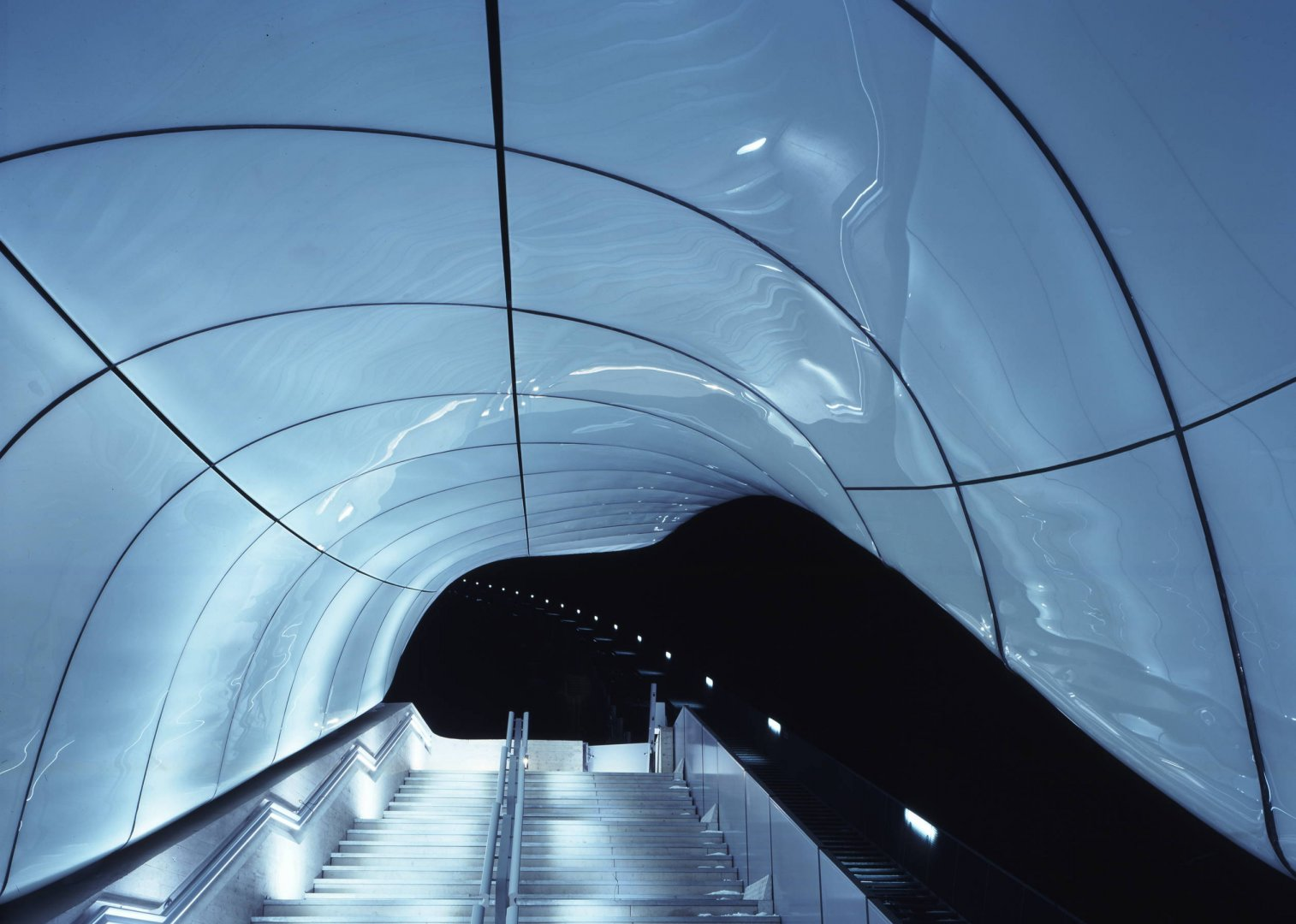 Quattro nuvole di vetro firmate Zaha Hadid