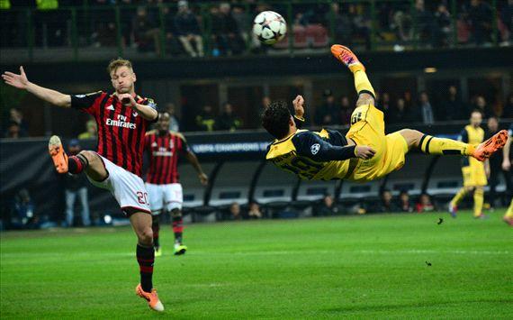 Champions League: Milan beffato nel finale. Con l'Atletico è 0-1