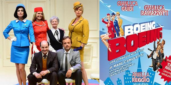 """""""Boeing Boeing""""al Teatro Manzoni di Milano, con la regia di Mark Schneider"""